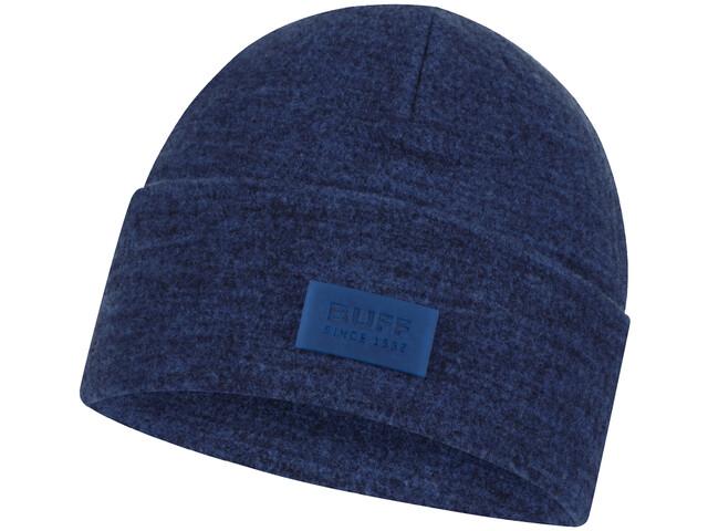 Buff Merino Wool Fleece Gorra, olympian blue